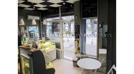 Заведение със статут на кафене в центъра на София (ул. Пиротска до бул. Христо Ботев)