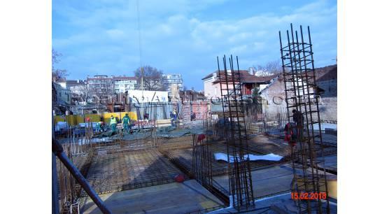2-стаен апартамент в центъра на София с акт 16 декември  2018г.