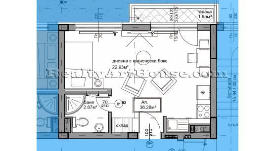 Продава1-СТАЕНИ апартаменти в Дружба 1