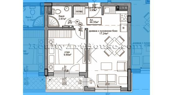 2-стаени апартаменти