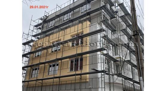 1-стайни апартаменти (статут ателие за живеене)  в новострояща се сграда кв. Люлин 8