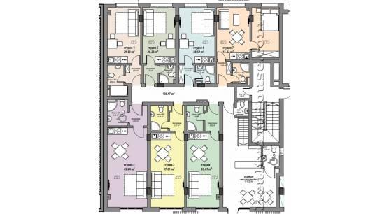 Timok 37, apart-hotel_plan