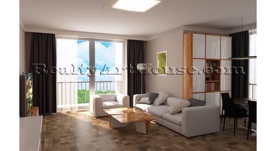 3-стаен апартамент в строеж ж.к. Витоша г. София