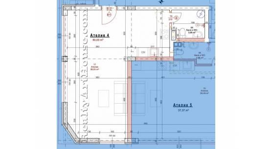 1-стайни апартаменти (статут ателие) в новострояща се сграда кв. Люлин 8