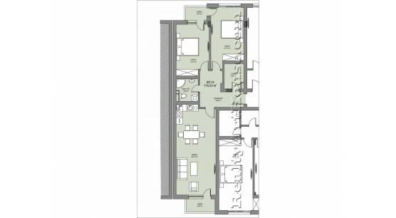 3-стайни апартаменти в широк център